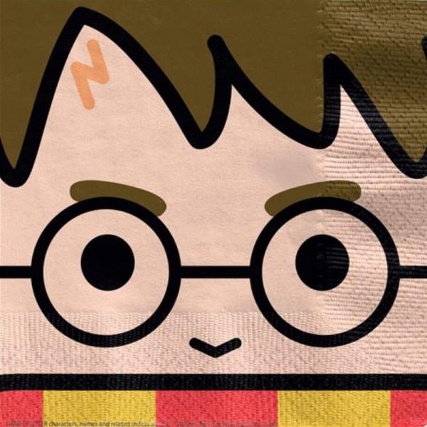 Servietten Comic Harry Potter 33cm, 16 Stk.