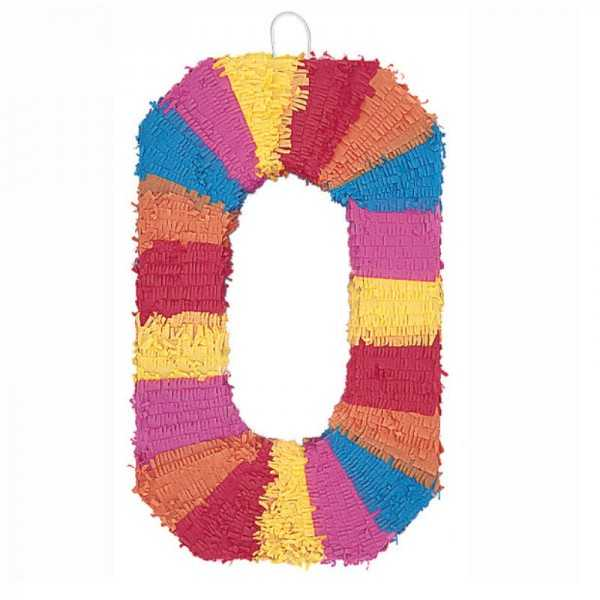 Piñata Zahl 0