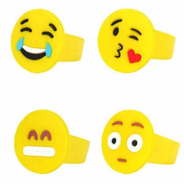Fingerring Smiley