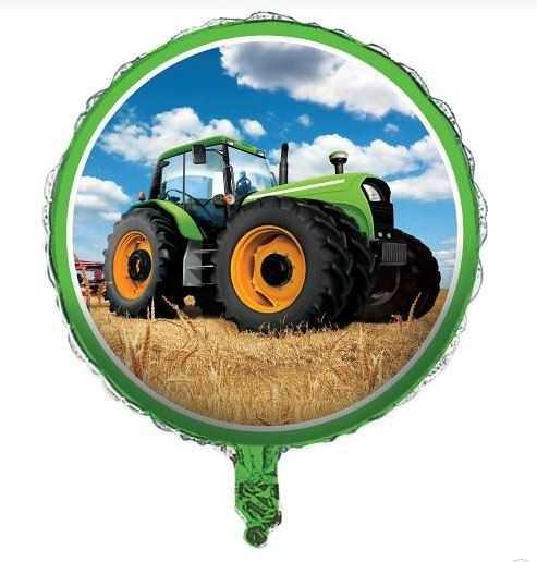 Folienballon Traktor Party