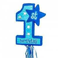 Zieh-Piñata 1. Geburtstag Junge