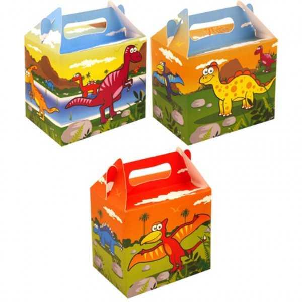 Mitgebselbox Dinosaurier, 6 Stk