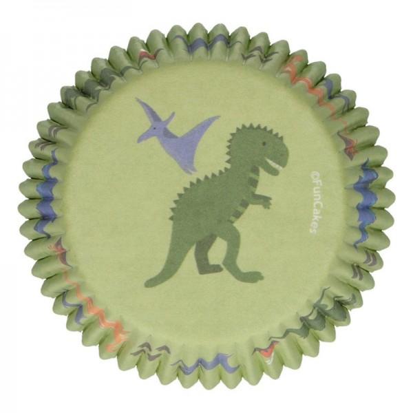 Muffinförmchen Dino