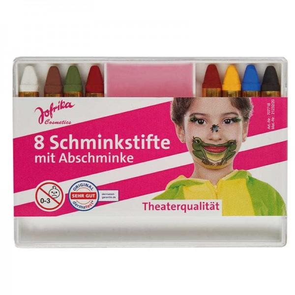 Schminkstifte mit Abschminke