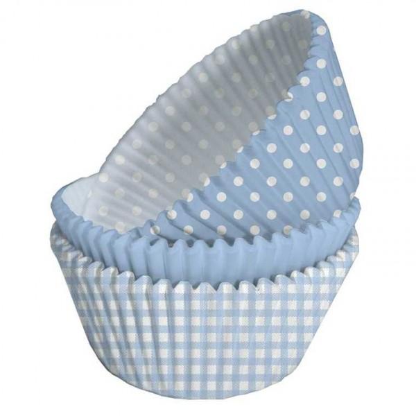 """Muffinförmchen Baby Shower, """"Hurra, ein Junge!"""", 75 Stk."""