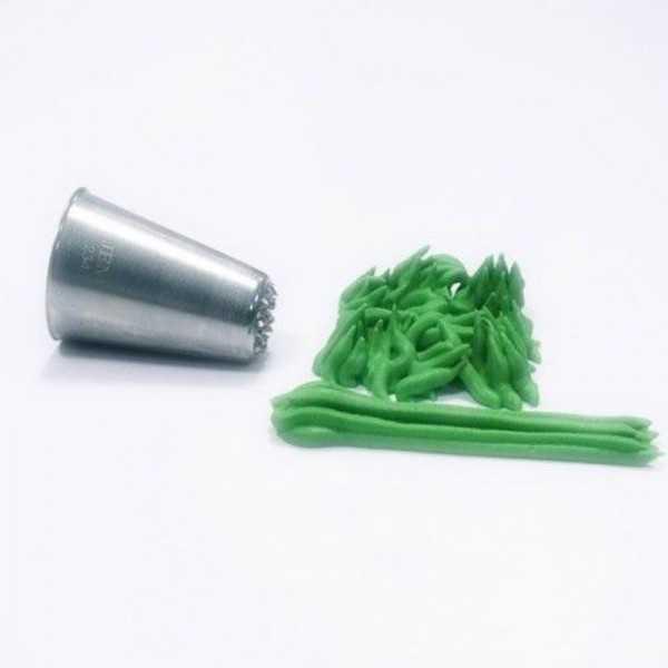 Spritztülle aus Metall für Gras & Haare, 1 Stk