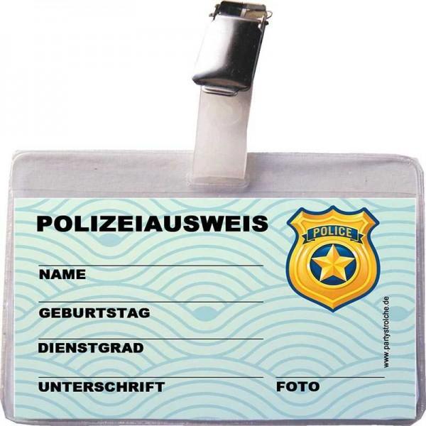 Ausweis Polizei