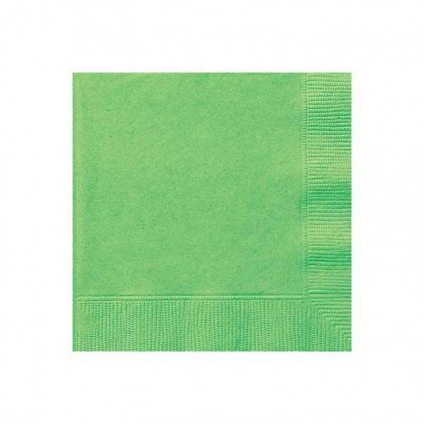 Servietten hellgrün