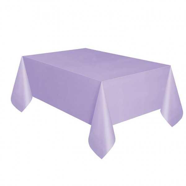 Tischdecke lila