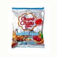 Chupa Chups zuckerfreie Lollis, 10 Stk.