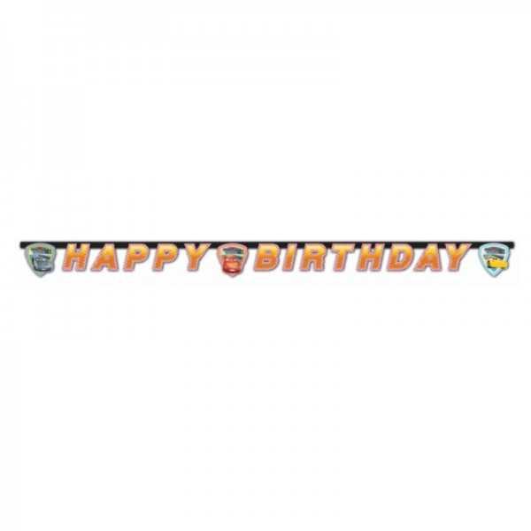 Girlande Happy Birthday Cars 3